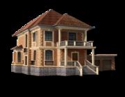 Строительство домов из деревянного бруса по эксклюзивным проектам